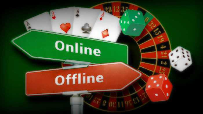 Casino Online And Offline How To Choose The Best Online Vs